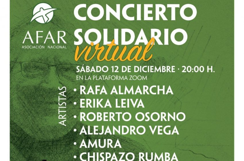 AFAR prepara un concierto solidario virtual